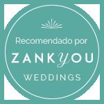 Recomendado por ZankYou weedings