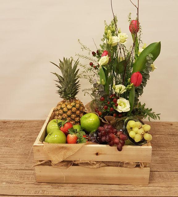 Caja fruta tropical